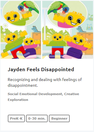 Jayden Feels Disappointed