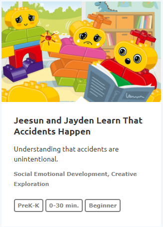 Jeesun and Jayden Learn That Accident Happen