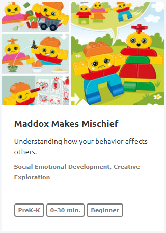Maddox Makes Mischief