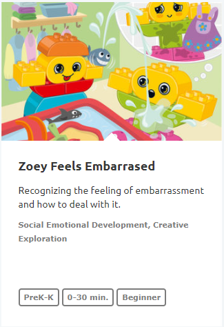 Zoey Feels Embarrased
