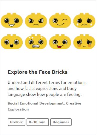 explore the face