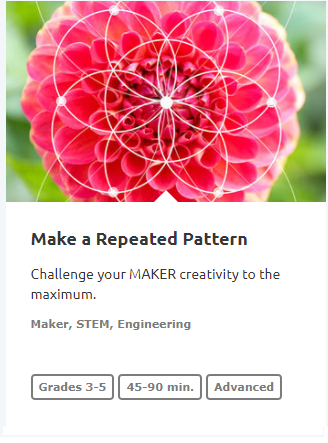 make arepeided pattern 9689